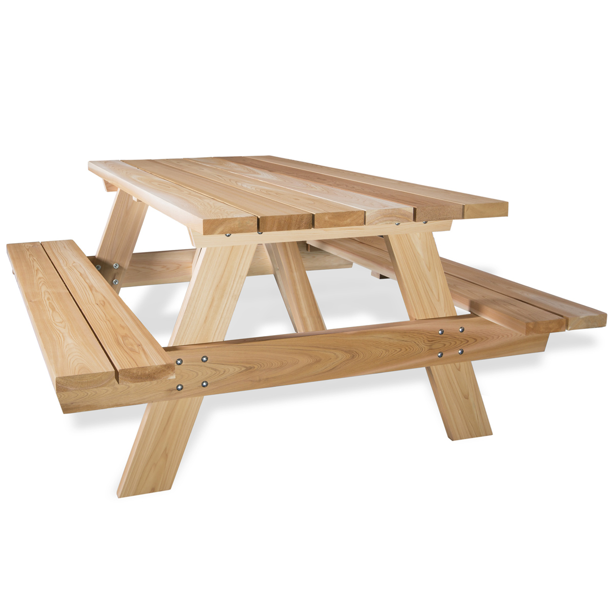 Swell Wooden Picnic Table Kits By All Things Cedar Patio Tables Creativecarmelina Interior Chair Design Creativecarmelinacom